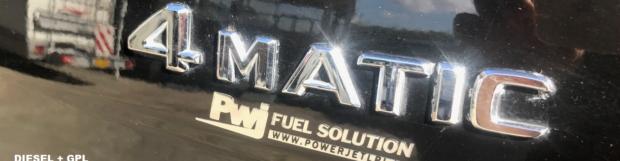 Impianto GPL su Mercedes ML 320 diesel