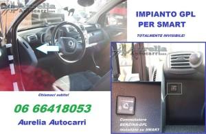 FOURTWO INSTALLAZIONE IMPIANTO GAS GPL SMART ROMA