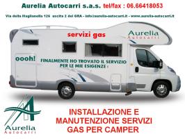 GAS,CAMPER,METANO,ROMA