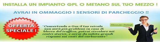 Installa da Aurelia Autocarri l'impianto GPL e avrai in OMAGGIO i sensori di parcheggio !