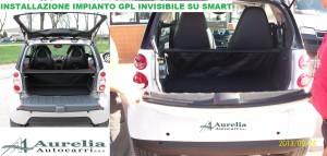 smart,gpl,baule,bagagliaio,installazione,roma
