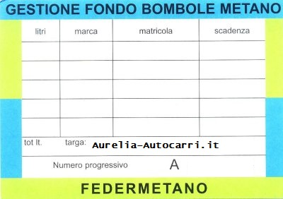 bombole,metano,revisione,roma