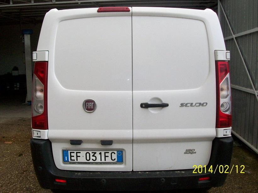 furgone usato scudo fiat  mjt diesel usato vendita roma