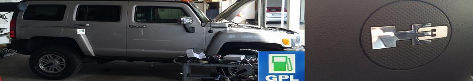 Installazione impianti GPL su Hummer H3