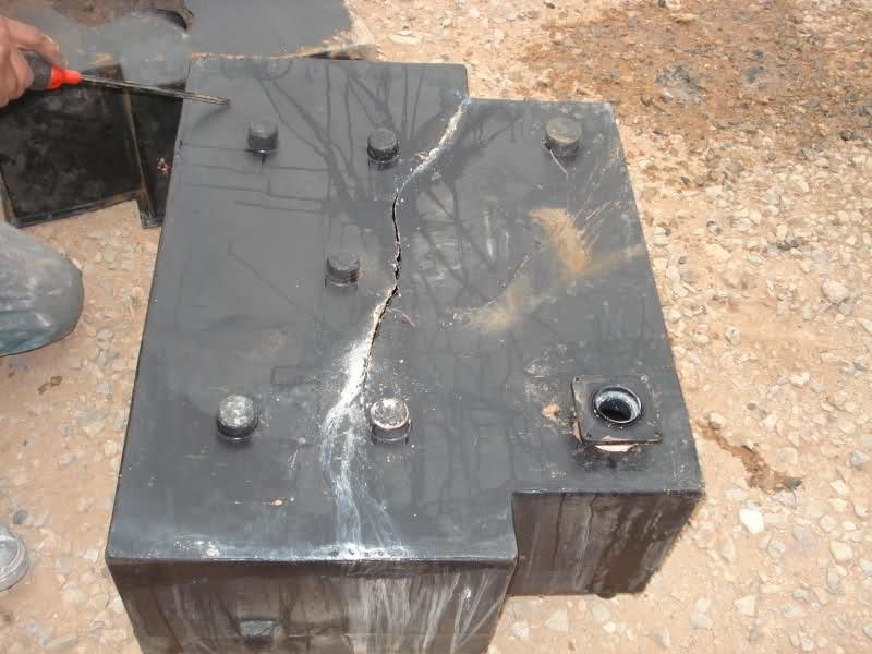 Serbatoio, camper riparazione