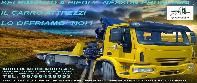 slide -  carro attrezzi soccorso stradale roma GRATIS